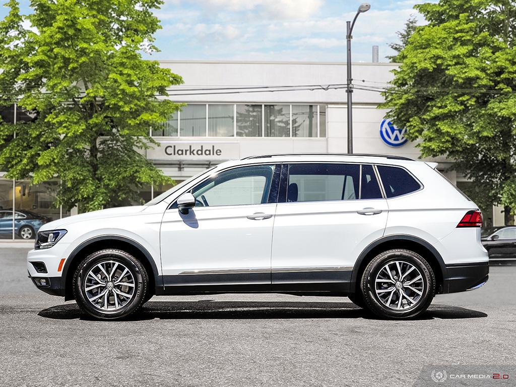 Certified Pre-Owned 2018 Volkswagen Tiguan Comfortline 2.0T 8sp at w/Tip 4M