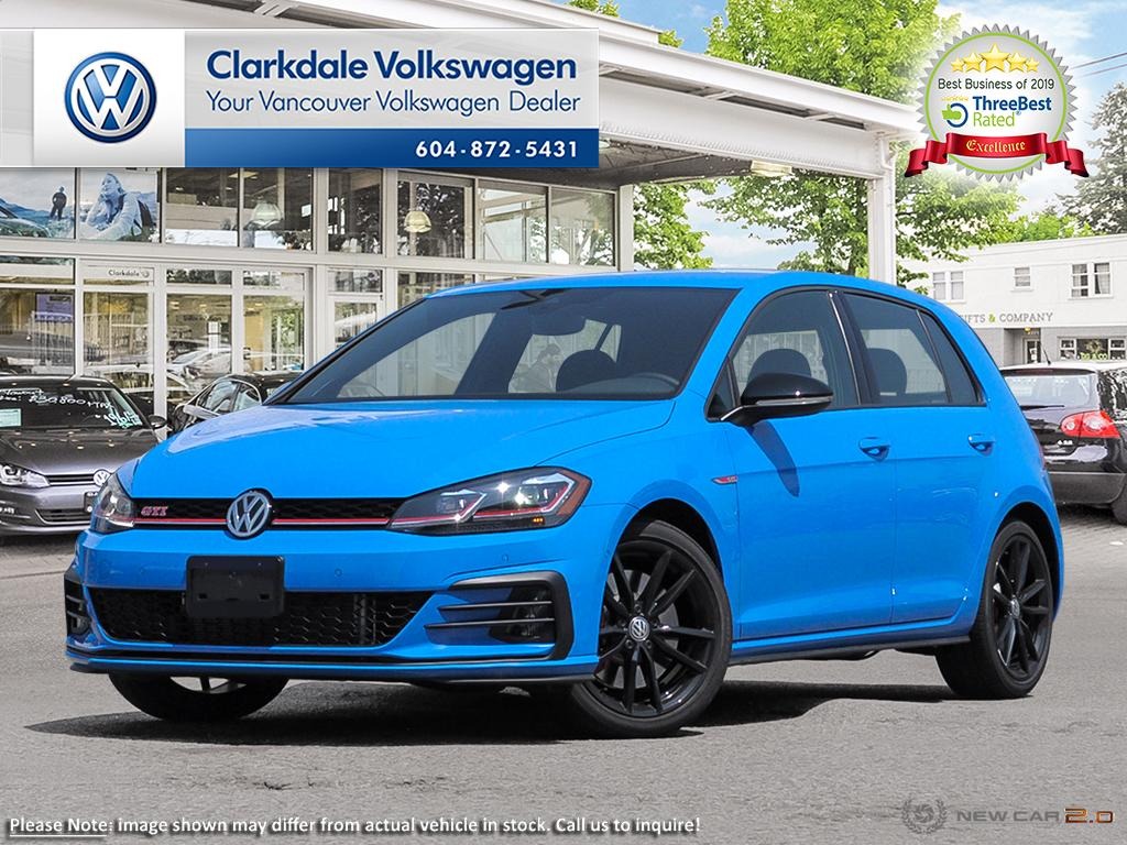 New 2019 Volkswagen Golf GTI Rabbit 5-Dr 2.0T 7sp at DSG w/Tip
