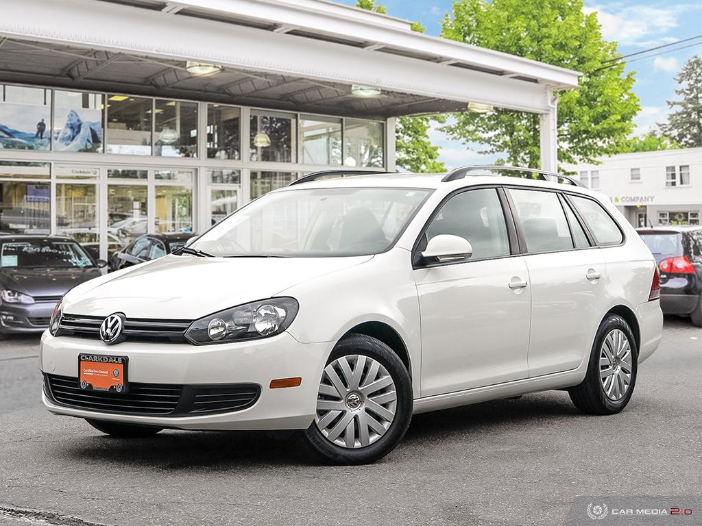 Certified Pre-Owned 2014 Volkswagen Golf Wagon Trendline 2.5 at Tip
