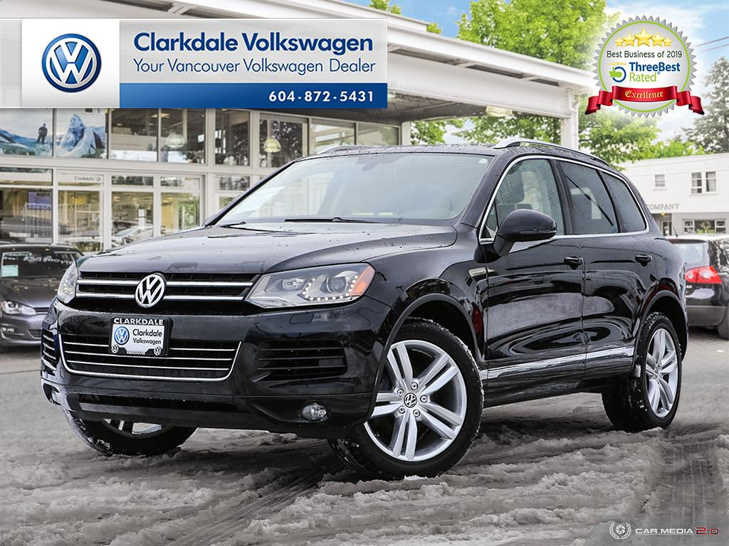 Pre-Owned 2012 Volkswagen Touareg Execline 3.6L 8sp at Tip 4M