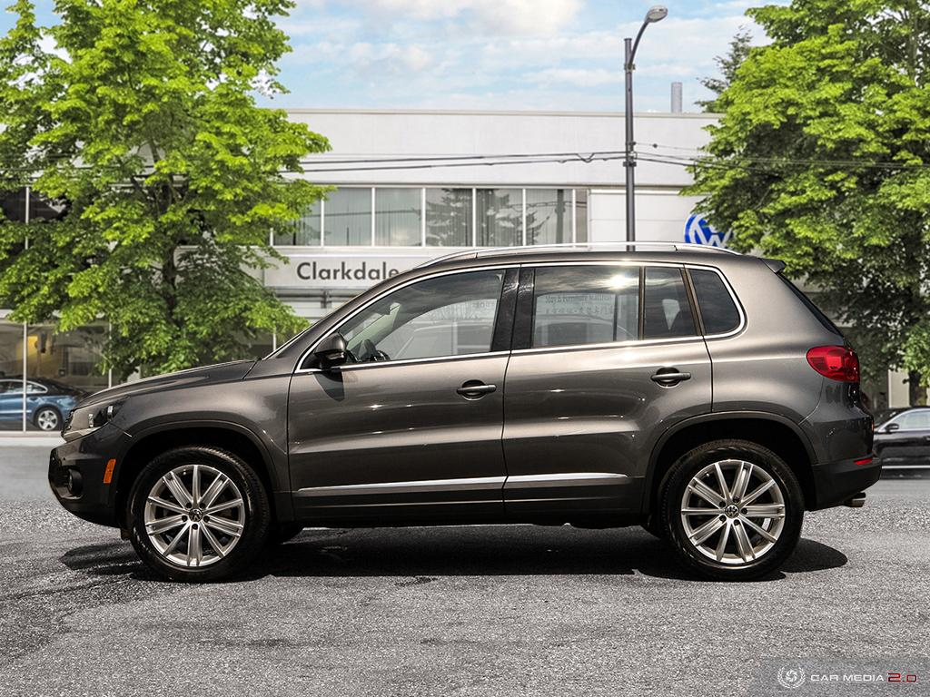 Certified Pre-Owned 2014 Volkswagen Tiguan Highline 6sp at Tip 4M