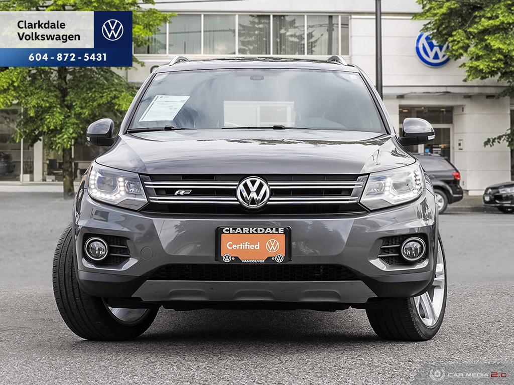Certified Pre-Owned 2016 Volkswagen Tiguan Highline 2.0T 6sp at w/ Tip 4M