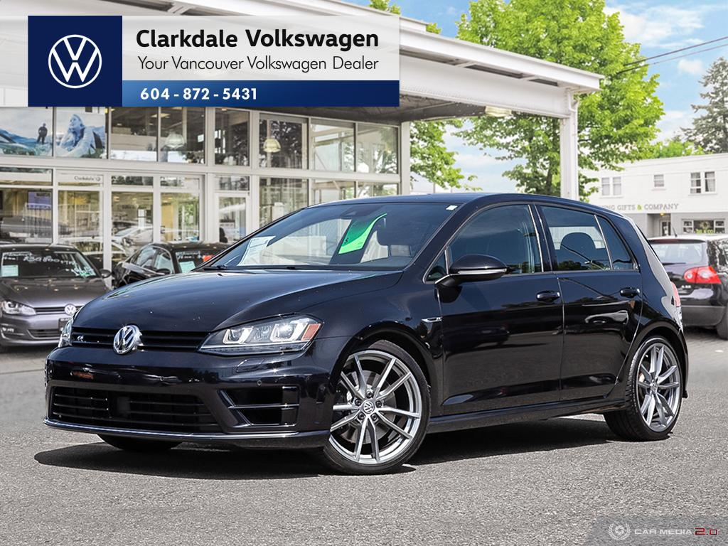 Certified Pre-Owned 2016 Volkswagen Golf R 5-Dr 2.0T 4MOTION 6sp