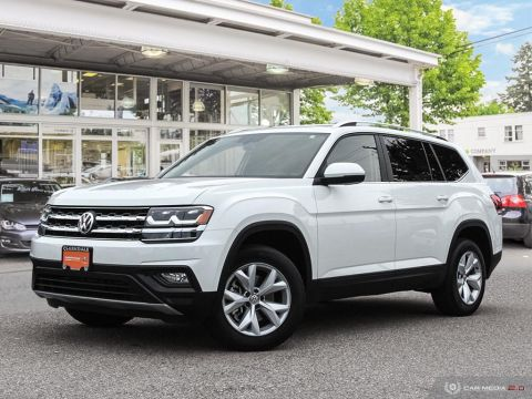 CERTIFIED PRE-OWNED 2018 VOLKSWAGEN ATLAS COMFORTLINE 3.6L 8SP AT W/TIP 4MOTION AWD