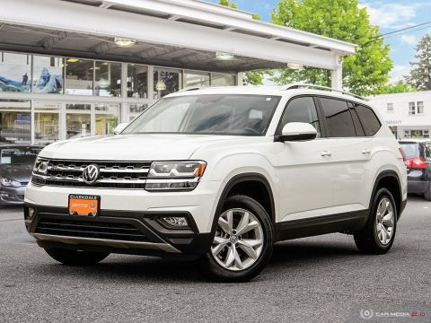 PRE-OWNED 2018 VOLKSWAGEN ATLAS COMFORTLINE 3.6L 8SP AT W/TIP 4MOTION AWD