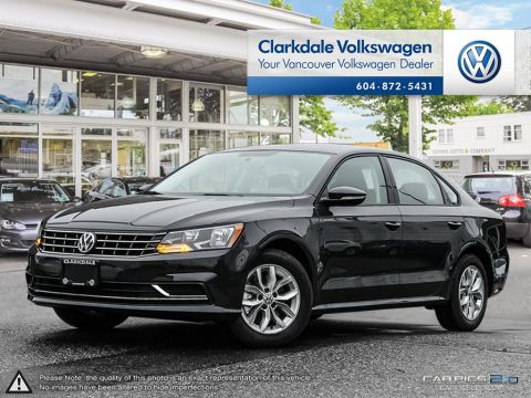 NEW 2018 VOLKSWAGEN PASSAT TRENDLINE PLUS 2.0T 6SP AT W/TIP FRONT WHEEL DRIVE 4-DOOR SEDAN