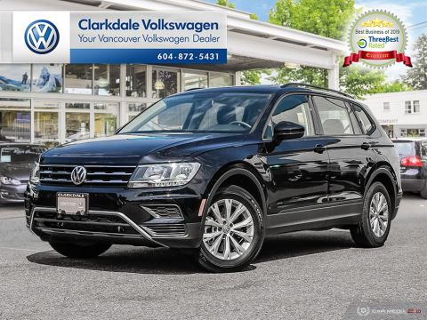 CERTIFIED PRE-OWNED 2018 VOLKSWAGEN TIGUAN TRENDLINE 2.0 8SP AT W/TIP 4M AWD