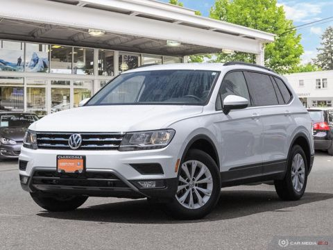 CERTIFIED PRE-OWNED 2018 VOLKSWAGEN TIGUAN TRENDLINE 2.0T 8SP AT W/TIP FRONT WHEEL DRIVE CROSSOVER