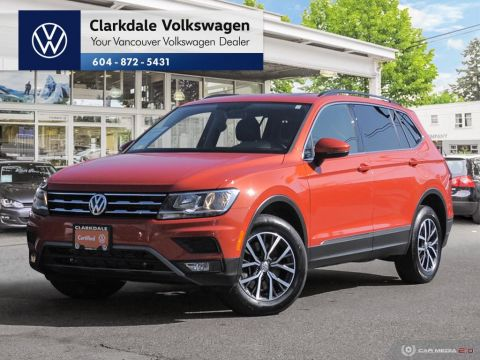 Certified Pre-Owned 2018 Volkswagen Tiguan Comfortline 2.0T 8sp at w/Tip 4MOTION (2)