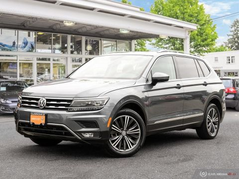 Certified Pre-Owned 2018 Volkswagen Tiguan Highline 2.0T 8sp at w/Tip 4M