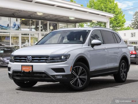 CERTIFIED PRE-OWNED 2018 VOLKSWAGEN TIGUAN HIGHLINE 2.0T 8SP AT W/TIP 4M AWD