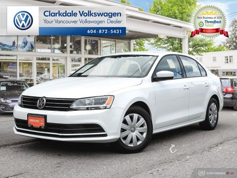 Certified Pre-Owned 2017 Volkswagen Jetta Trendline plus 1.4T 5sp