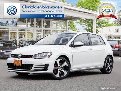 Certified Pre-Owned 2016 Volkswagen Golf GTI 5-Dr 2.0T Autobahn 6sp DSG at w/Tip