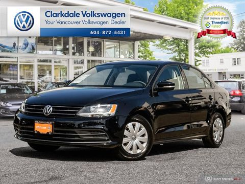 Certified Pre-Owned 2015 Volkswagen Jetta Trendline plus 1.8T 5sp