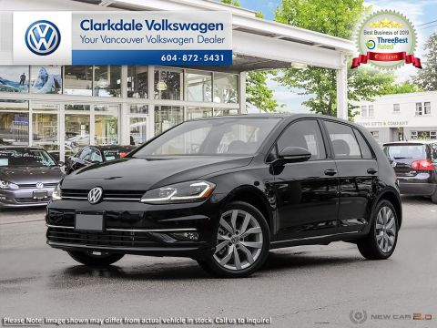 PRE-OWNED 2018 VOLKSWAGEN GOLF 5-DR 1.8T HIGHLINE 6SP AT W/TIP FRONT WHEEL DRIVE 5-DOOR HATCHBACK