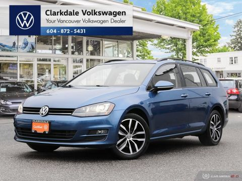 Certified Pre-Owned 2016 Volkswagen Golf Sportwagen 1.8T Comfortline 6sp at w/Tip