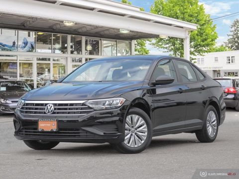 CERTIFIED PRE-OWNED 2019 VOLKSWAGEN JETTA COMFORTLINE 1.4T 8SP AT W/TIP FRONT WHEEL DRIVE 4-DOOR SEDAN