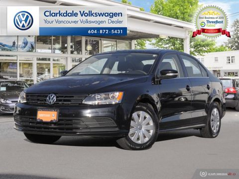 Certified Pre-Owned 2015 Volkswagen Jetta Trendline plus 1.8T 6sp w/ Tip