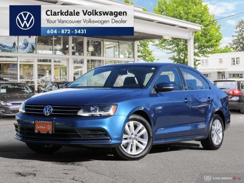 Certified Pre-Owned 2017 Volkswagen Jetta Wolfsburg Edition 1.4T 6sp at w/Tip