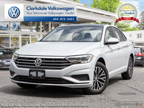 New 2019 Volkswagen Jetta Highline 1.4T 8sp at w/Tip