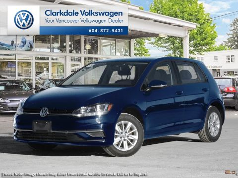 CERTIFIED PRE-OWNED 2018 VOLKSWAGEN GOLF 5-DR 1.8T TRENDLINE 6SP AT W/TIP 5-DOOR HATCHBACK