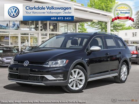 New 2019 Volkswagen Golf Sportwagen Alltrack 1.8T HL DSG 6sp at w/Tip 4M