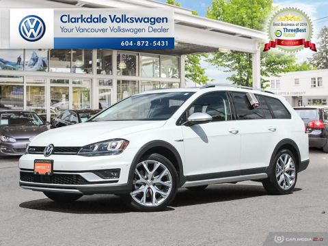 CERTIFIED PRE-OWNED 2017 VOLKSWAGEN GOLF ALLTRACK 1.8T DSG 6SP AT W/TIP 4MOTION AWD