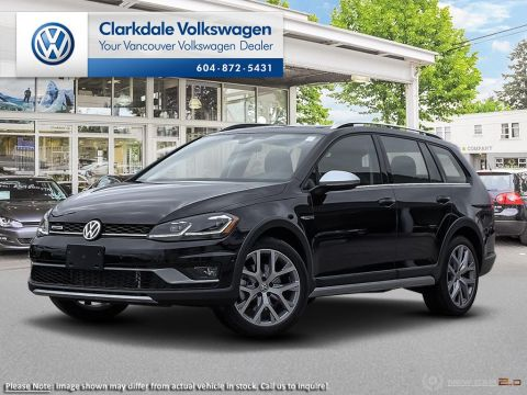 New 2019 Volkswagen Golf Alltrack 1.8T Execline DSG 6sp at w/Tip 4MOTION