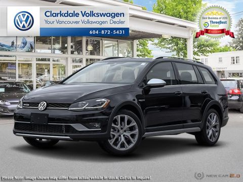 New 2019 Volkswagen Golf Sportwagen Alltrack 1.8T EXL DSG 6sp at w/Tip 4M