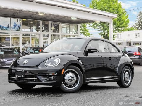 NEW 2018 VOLKSWAGEN THE BEETLE COAST 2.0T 6SP AT W/TIP FRONT WHEEL DRIVE 2-DOOR COUPE