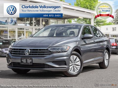 NEW 2019 VOLKSWAGEN JETTA COMFORTLINE 1.4T 6SP FRONT WHEEL DRIVE 4-DOOR SEDAN