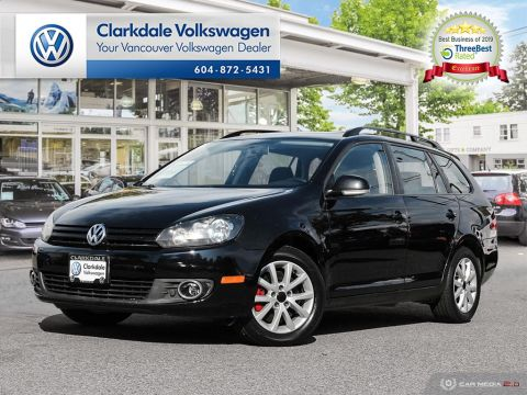 Pre-Owned 2014 Volkswagen Golf Wagon 2.0 TDI Trendline DSG at w/ Tip