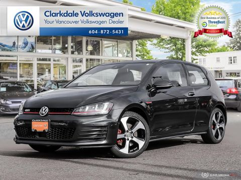Certified Pre-Owned 2016 Volkswagen Golf GTI 3-Dr 2.0T Autobahn 6sp DSG at w/Tip