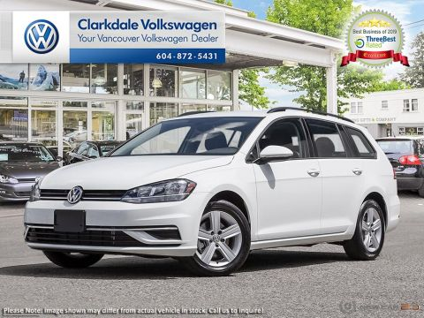 New 2019 Volkswagen Golf Sportwagen 1.4T Comfortline 8sp at w/Tip