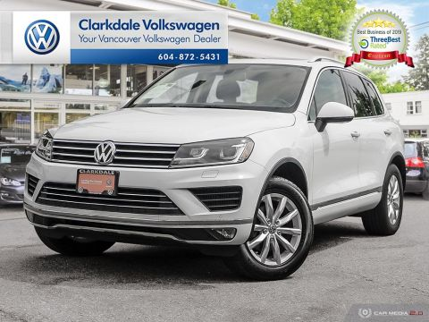 CERTIFIED PRE-OWNED 2015 VOLKSWAGEN TOUAREG SPORTLINE 3.0 TDI 8SP AT TIP 4M AWD