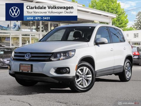 Certified Pre-Owned 2016 Volkswagen Tiguan Trendline 2.0T 6sp at w/Tip