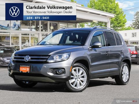 Certified Pre-Owned 2016 Volkswagen Tiguan Highline 2.0T 6sp at w/ Tip 4M AWD