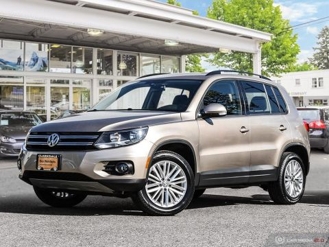 CERTIFIED PRE-OWNED 2016 VOLKSWAGEN TIGUAN SPECIAL EDITION 2.0T 6SP AT W/TIP 4M AWD