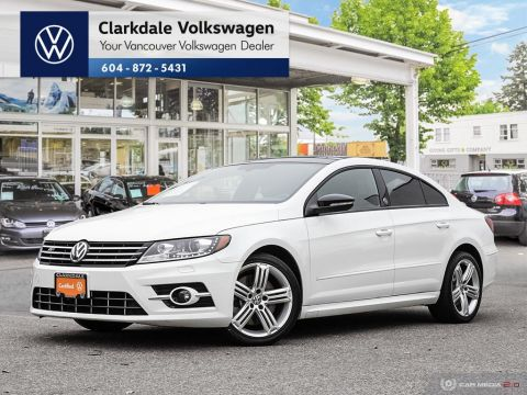 Certified Pre-Owned 2017 Volkswagen CC Wolfsburg Edition 3.6L 6sp at w/Tip 4M